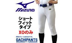 ミズノ ユニフォーム 練習用スペア ユニフォームパンツ ズボン 「ショートフィットタイプ」 12JD6F6701