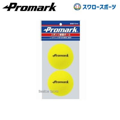 プロマーク スポンジ練習球 2個入り PS-2289