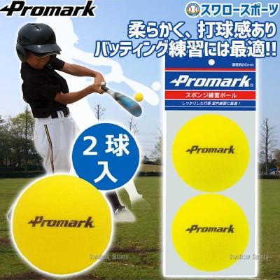 プロマーク スポンジ練習球 2個入り PS-2296