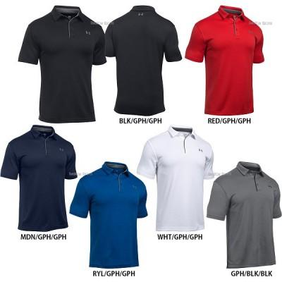 アンダーアーマー ポロシャツ ヒートギア 半袖 1290140 ヒートギア UNDER ARMOUR ウェア トップス ウエア ファッション 夏 野球用品 スワロースポーツ