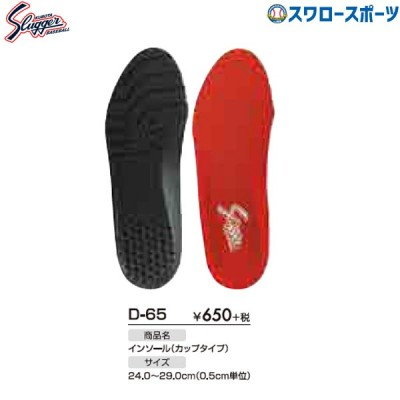 久保田スラッガー インソール 中敷き(カップタイプ) D-65