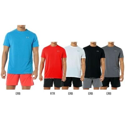 【即日出荷】 アンダーアーマー Tシャツ UA CHARGED NLS RUN SS 半袖 MRN2539 ウェア ウエア ファッション UNDER ARMOUR スポカジ 夏 トップス 野球用品 スワロースポーツ ヒートギア 【Sale】