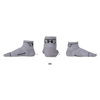 アンダーアーマー UA チャージドコットン RUN ソックス 5トゥショート 靴下 SRN2345 靴下 UNDER ARMOUR 野球用品 スワロースポーツ ヒートギア