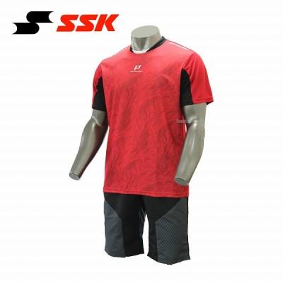 【即日出荷】 SSK エスエスケイ 限定 PROEDGE ウェア グラフィック Tシャツ ハーフパンツ 上下セット セットアップ EBT1702-EBWP17002HP