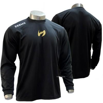 【即日出荷】 ジームス 限定 ロング Tシャツ 長袖 アンダーシャツ ZW17-607B