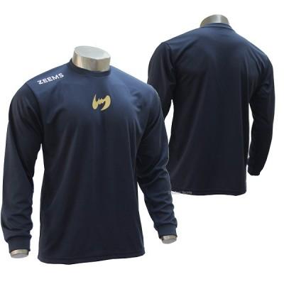 【即日出荷】 ジームス 限定 ロング Tシャツ 長袖 アンダーシャツ ZW17-608N