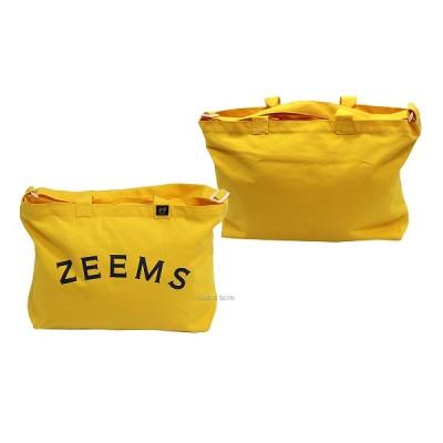 ジームス カラー ジップ  トートバッグ (大) ZEB-754