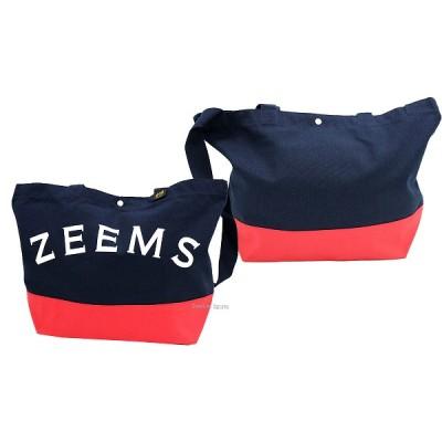 ジームス カラー ジップ  トートバッグ (中) ZEB-759 高校野球 高校球児 トートバック