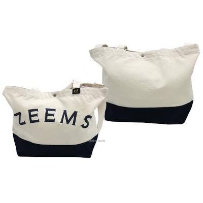 ジームス カラー ジップ  トートバッグ (中) ZEB-760