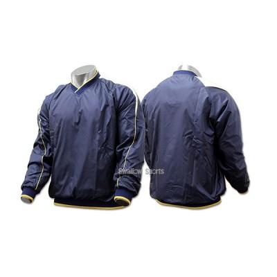 ハイゴールド 長袖Vネックジャケット(裏トリコット起毛) HRD-5001