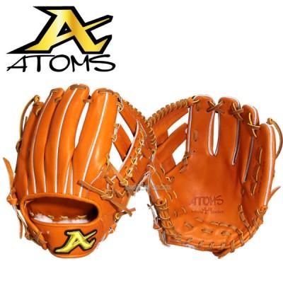 ATOMS アトムズ 硬式 グラブ 遊撃・二塁手用 AKG-6 野球用品 スワロースポーツ ■TRZ