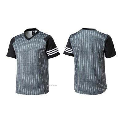 【即日出荷】 adidas アディダス Revolution 2ndユニフォーム Tシャツ ピンストライプ BIN18