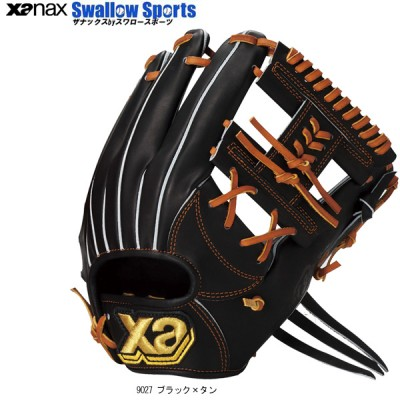 ザナックス 硬式 グラブ 専用袋付 トラスト 内野手用 BHG-52616