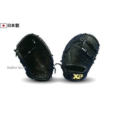 【即日出荷】 ザナックス 軟式・ソフト ボール 兼用 ファースト ミット BRF-3127