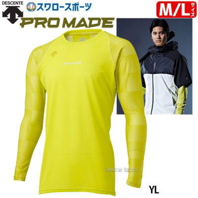 デサント 限定 ウェア ウエア Tシャツ L/S ベースボールシャツ 長袖 大谷翔平 DBMRJB50 DESCENTE