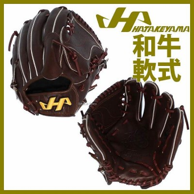 【即日出荷】 送料無料 ハタケヤマ hatakeyama 限定 和牛軟式 グローブ グラブ 投手用 WN-1871