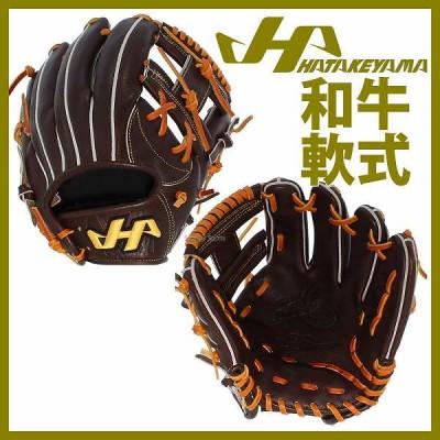 【即日出荷】 送料無料 ハタケヤマ hatakeyama 限定 和牛軟式 グローブ グラブ 内野手用 WN-1875