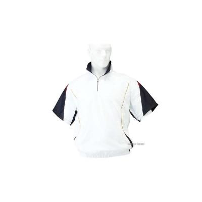 ハイゴールド ハーフジップ ブルゾン 半袖 ジャケット HRD-5235