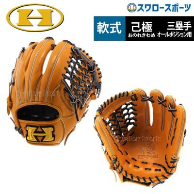 【即日出荷】 ハイゴールド 軟式 グローブ グラブ 己極 三塁手 オールポジション用 OKG-6025