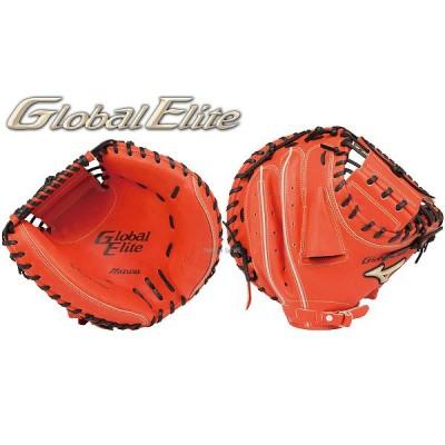ミズノ 硬式ミット グローバルエリート G True 捕手用 1AJCH15200 Mizuno 【Sale】 野球用品 スワロースポーツ ■TRZ