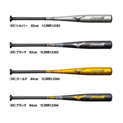 ミズノ 軟式用 金属製 セレクトナイン 1CJMR125 バット 金属バット 野球用品 スワロースポーツ
