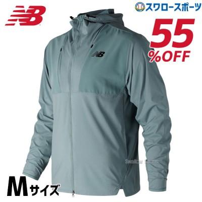 【即日出荷】 【S】 セール ニューバランス ウェア マックスインテンシティ ジャケット SBL Mサイズのみ 吸汗速乾 AMJ83049