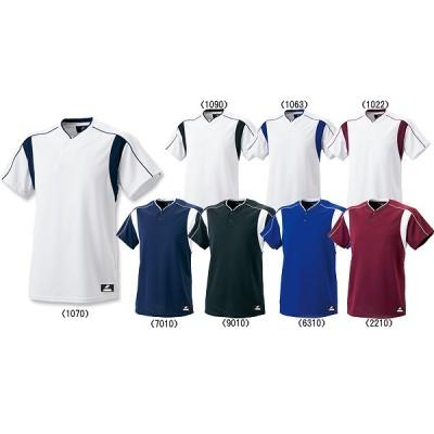 SSK エスエスケイ Tシャツ 2ボタン ベースボール Tシャツ BW2080