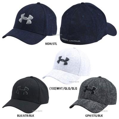 アンダーアーマー UA アクセサリー ヒートギア UA PRINT BLITZING CAP 帽子 1273197 野球用品 スワロースポーツ