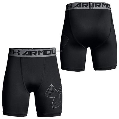 アンダーアーマー UA ウェア ヒートギア UA Armour Mid Short インナーパンツ 少年用 1289960
