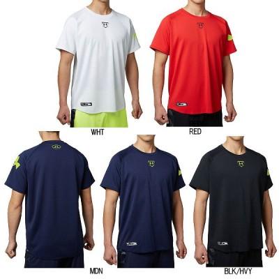 【即日出荷】 アンダーアーマー ヒートギア ビッグロゴ Tシャツ ベースボール シャツ 1295457