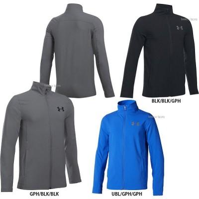 アンダーアーマー UA ウェア オールシーズンギア UA CONSTRUCT WOVEN FZ ジャケット 少年用 1301887