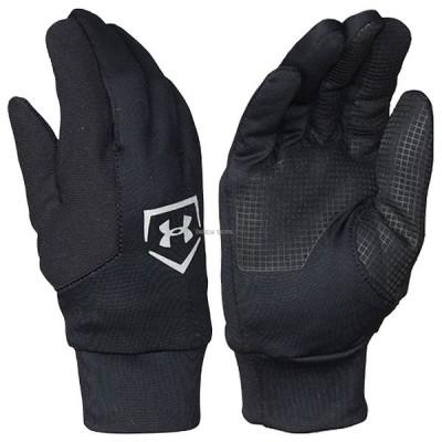 【即日出荷】 アンダーアーマー UA 手袋 コールドギア UA BOY'S BASEBALL CORE LINER 防寒用 少年用 1303053