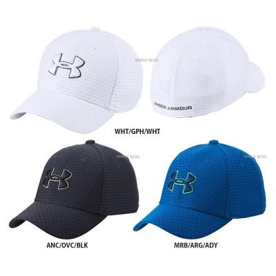 アンダーアーマー UA ウェアアクセサリー ヒートギア UA Boy's Printed Blitzing 3.0 帽子 少年用 1305459
