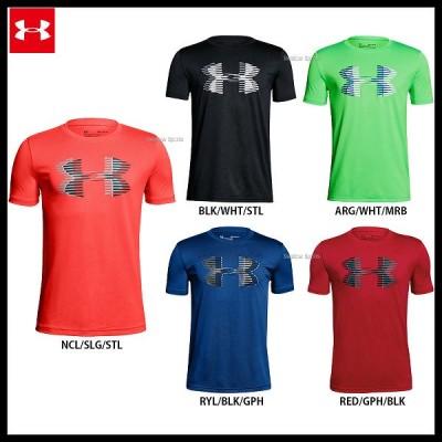 アンダーアーマー UA ウェア ヒートギア UA Tech Big Logo Solid Tee Tシャツ 少年用 1306073