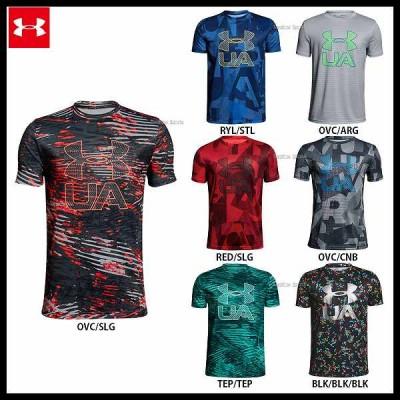 アンダーアーマー UA ウェア ヒートギア UA テック Tシャツ 少年用 1306088
