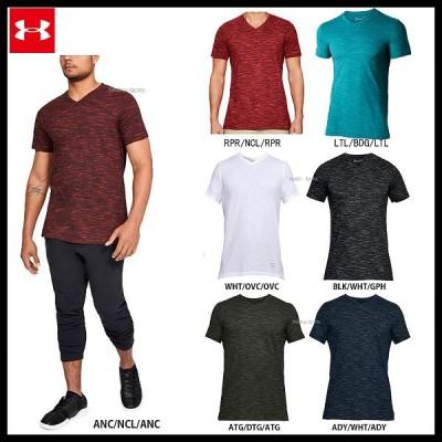 アンダーアーマー UA ウェア ヒートギア UA Sportstyle Core V Neck Tee Tシャツ 1306492