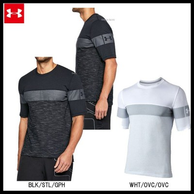 アンダーアーマー UA ウェア ヒートギア UA SPORTSTYLE FOODBALL TEE Tシャツ 五分袖 1306494