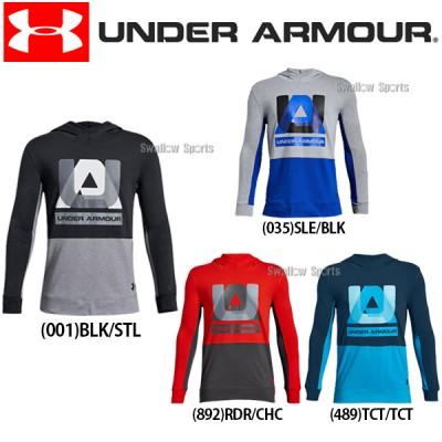 アンダーアーマー UA ウェア UA Sportstyle Hoody パーカー 長袖 少年用 1318254