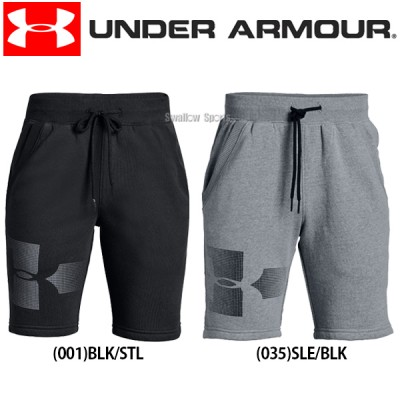 アンダーアーマー UA ウェア UA Rival Graphic Fleece Short ハーフパンツ 少年用 1325486
