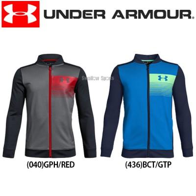 アンダーアーマー UA ウェア オールシーズンギア UA Novelty Pennant Jacket ジャケット 長袖 少年用 1325493