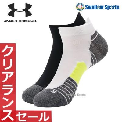 アンダーアーマー UA ウェアアクセサリー ランニングノーショータブ ソックス 靴下 くつ下 1329363