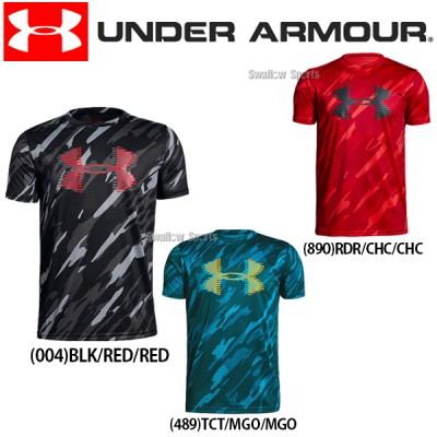 アンダーアーマー UA ウェア ヒートギア UA Tech Big Logo Printed Tee Tシャツ 半袖 少年用 1331688