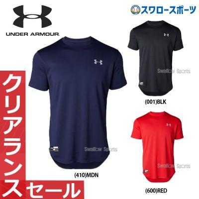【即日出荷】 アンダーアーマー UA ウェア ヒートギア UA ビッグロゴ ベースボールシャツ 1346887