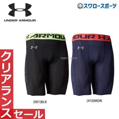 アンダーアーマー メンズ 野球 ベースボール UA ウェア ヒートギア スライディングパンツ UA パッディド スライダー 2 1354242