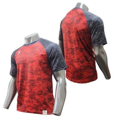 【即日出荷】 アップセット upset ウェア プラクティスシャツ デジカモ 半袖 UPSET-900