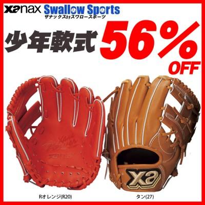 【即日出荷】 少年野球 グローブ 少年軟式グローブ ザナックス ザナパワー オールラウンド小 BJG-4017