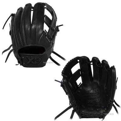 【即日出荷】 ザナックス XANAX  軟式 グローブ グラブ トラスト BLACK LINE 内野手用 BRG-53818S 右投用