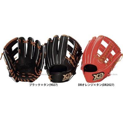 ザナックス ザナパワー 軟式 グラブ 内野手 外野手用 右投用 BRG-5818