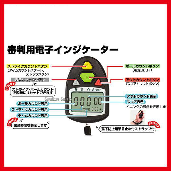 digital baseball counter D1301 DANNO DANNO